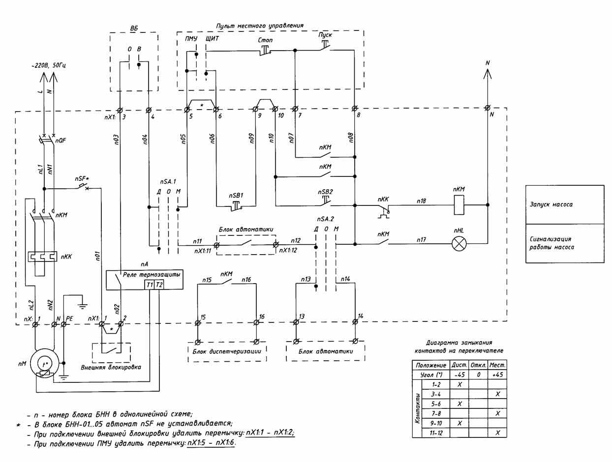 Блок управления насосом турбипресс схема подключения